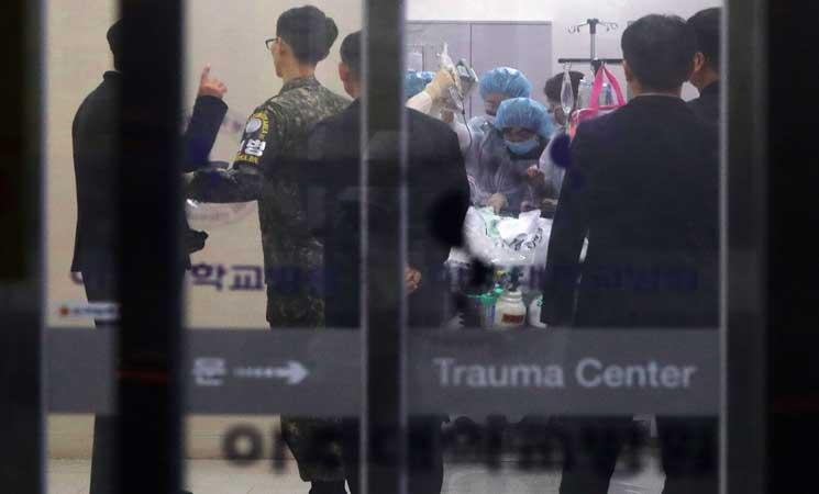 الأمم المتحدة: جندي كوري شمالي منشق إلى الجنوب تعرض لإطلاق نار   البوابة