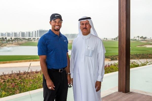 Tiger Woods Tours His Golf Course Design At Damac