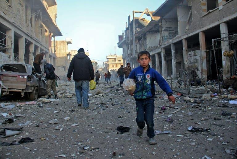 الأمم المتحدة تدعو إلى هدنة لمدة شهر في سوريا لإيصال المساعدات   البوابة