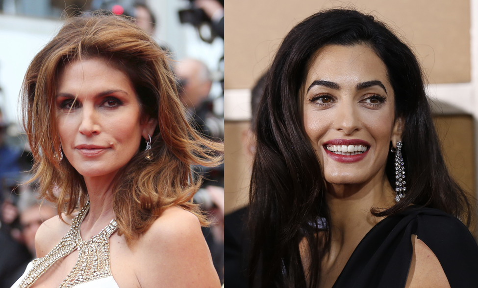 Cindy Crawford delighted by Amal Clooney's interest in her ... Anne Hathaway Instagram