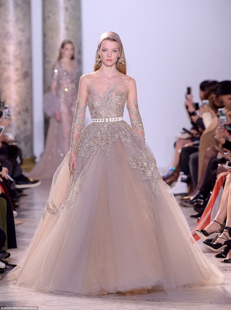 Elie Saab reigns over #PFW with collection inspired by Egypt\'s ...
