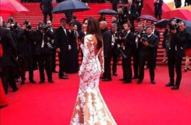 Najwa on Cannes red carpet