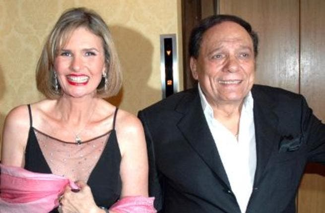 Yousra and Adel Emam