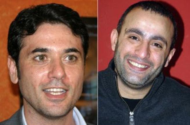 Ahmed Ezz and Ahmed El Sakka