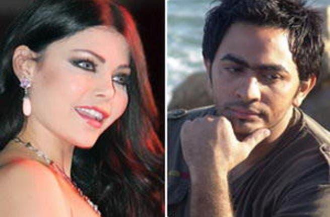 Tamer Husni and Haifa Wahbi