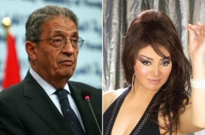 Amro Musa and Nabila Obeid
