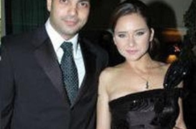 Nelly Kareem and husband