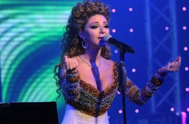 Mariam Fares during Kuwait concert