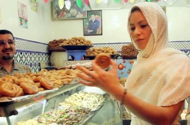 Shakira in Morocco