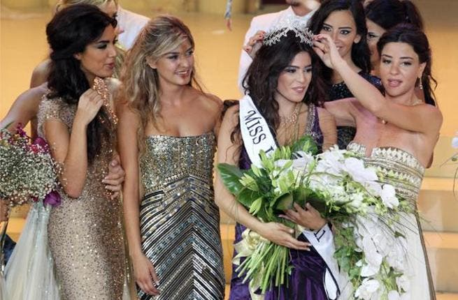Crowning of Miss Lebanon 2011