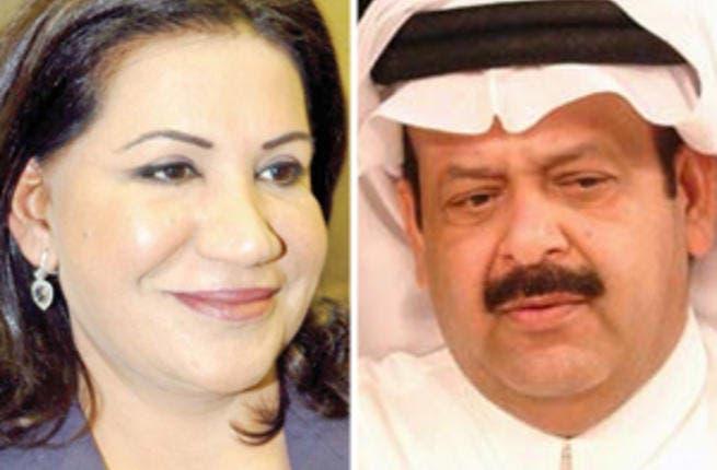 Suad Abdullah and Abd Al Aziz Jasem