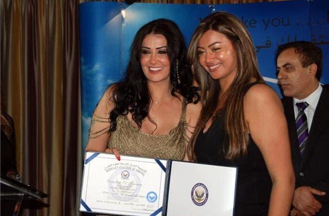 Ghada and her daughter Rotana