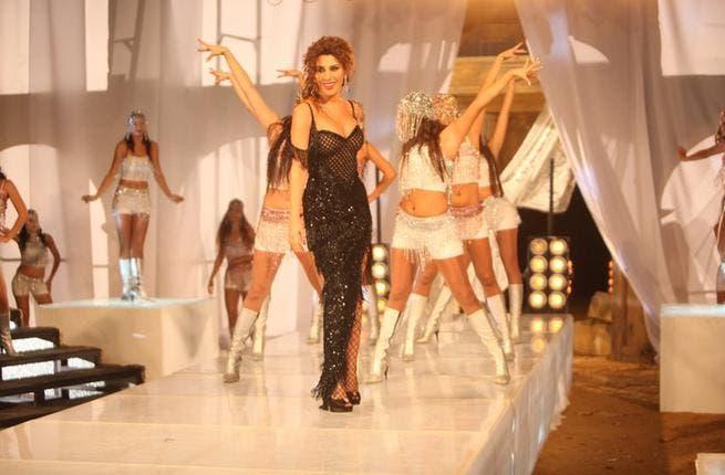 Najwa Karam in her latest music video