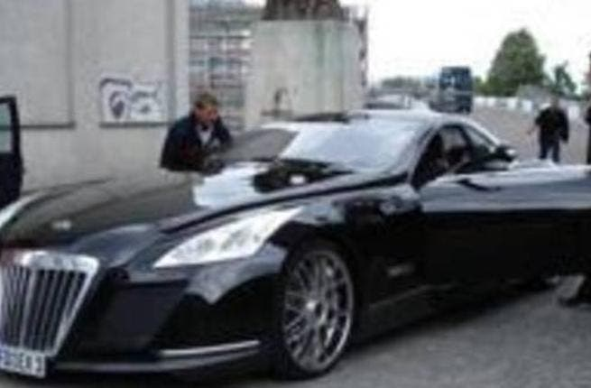 Rashe's Maybach Coupe