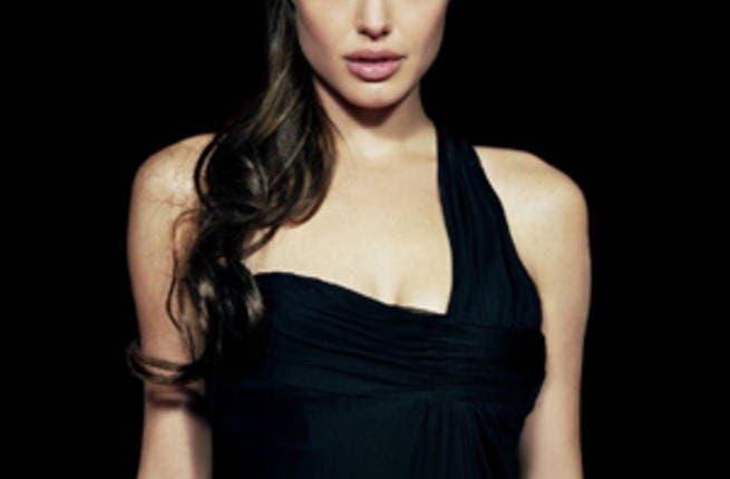 Angelina Jolie's tattoo on right arm