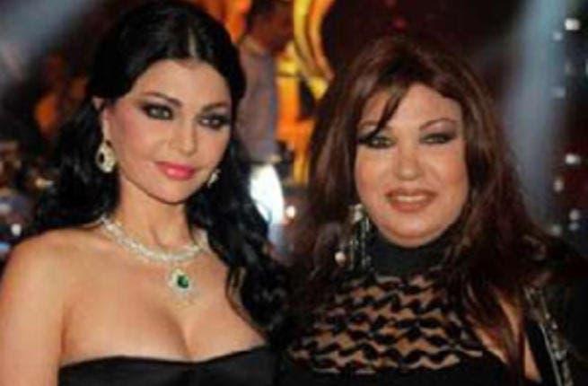 Haifa Wahbi and Fifi Abdo