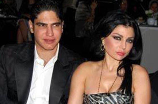 Haifa Wahbi and Ahmad Abu Hashima