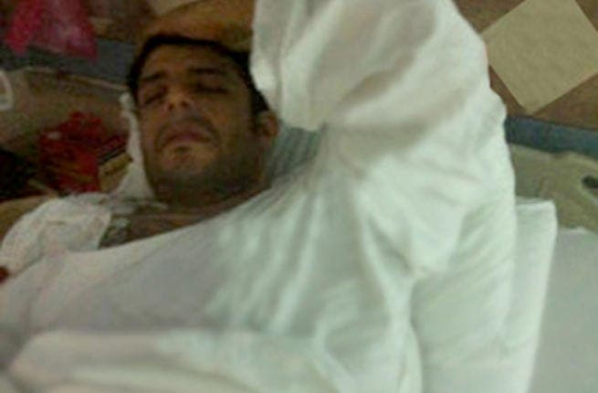 Mohammad Hamaki in hospital