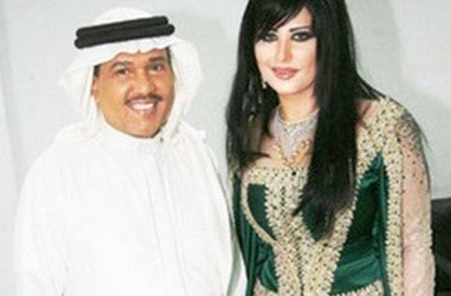 Mohammad Abdo and his new wife