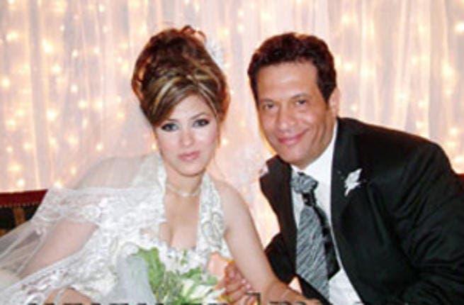 Majed Al Masri and his wife