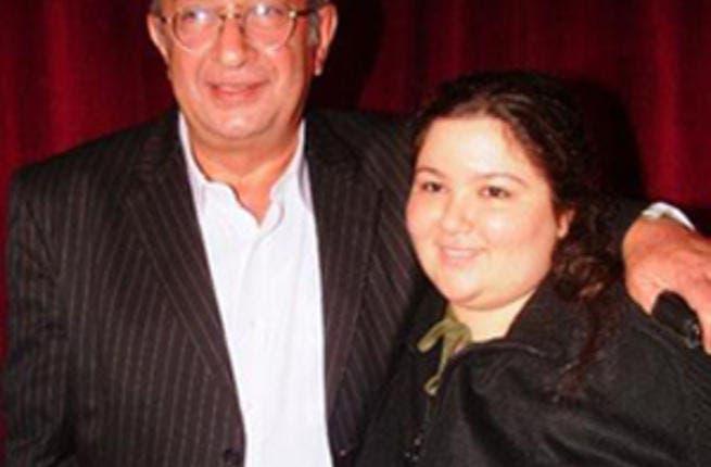 Nour El Shareef and daughter Sarah