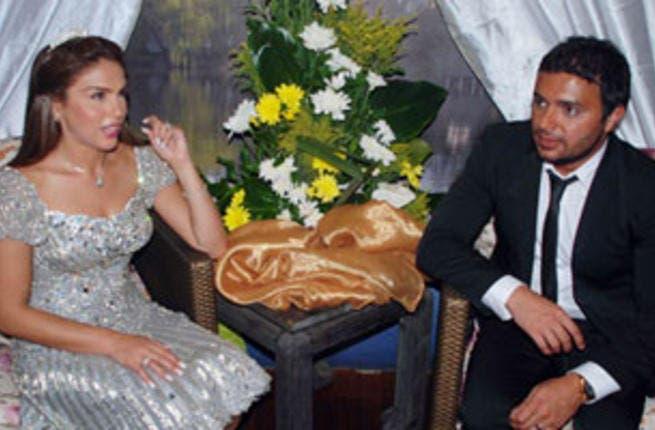 Rami Sabri and Shireen Adel