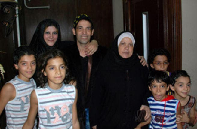 Saed with family