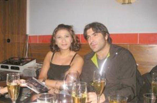Wael Kfoury and wife