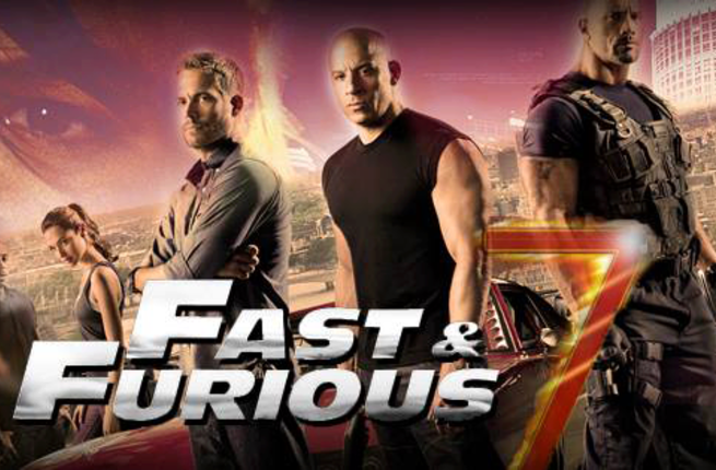 Coming soon: Fast & Furious 7. (Image: Facebook)