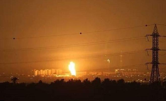 قصف اسرائيلي على قطاع غزة