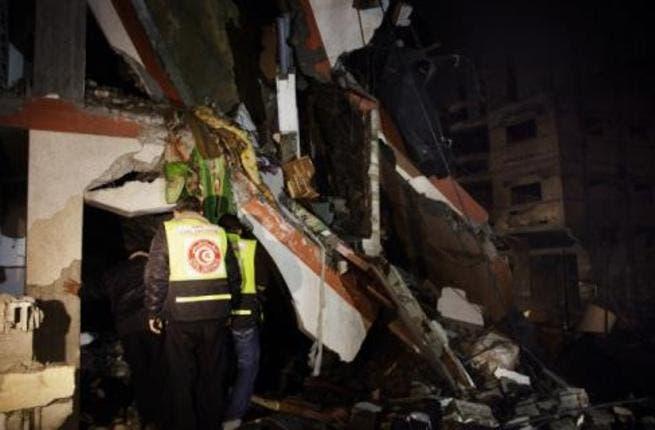 Gaza bombed