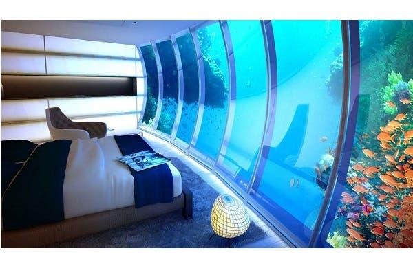 هل تستطيع النوم تحت الماء؟.. إليك أغرب الفنادق بالعالم... فيديو