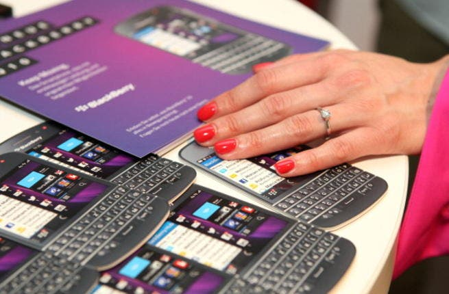 BlackBerry could lay off up to 40% of staff