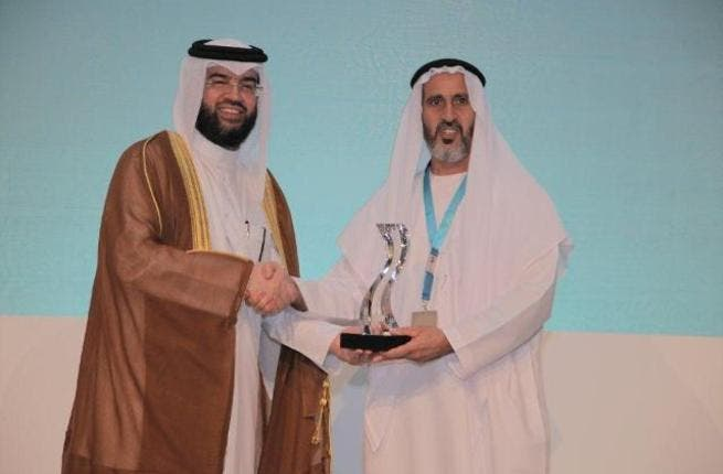 Saeed Fadel Al Mazrooei, CEO and president of EMAL at the GAC award ceremony
