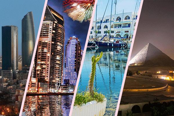 كيف أثرت السياحة على الدخل الاقتصادي لهذه الدول العربية في 2018؟   البوابة