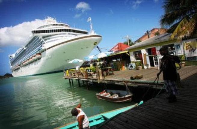 About 32,000 cruise tourists were expected to visit the country