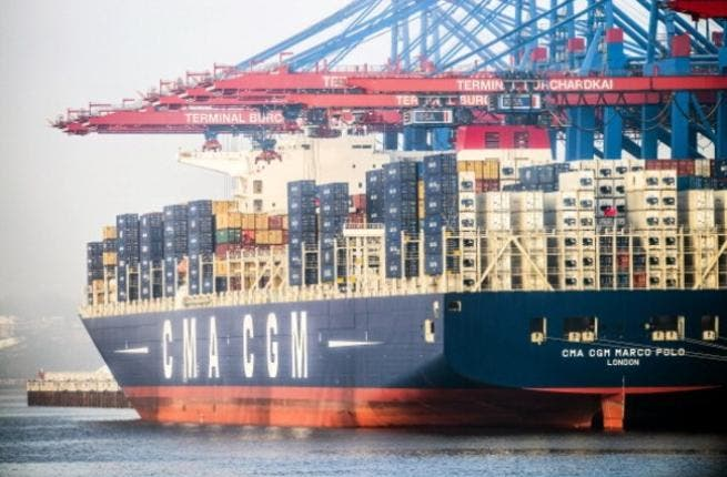 CMA transported 280,000 tons of cargo to the Port of Beirut