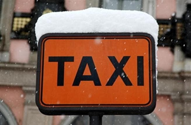 The number of taxis on the road makes it harder for people to get from place to place