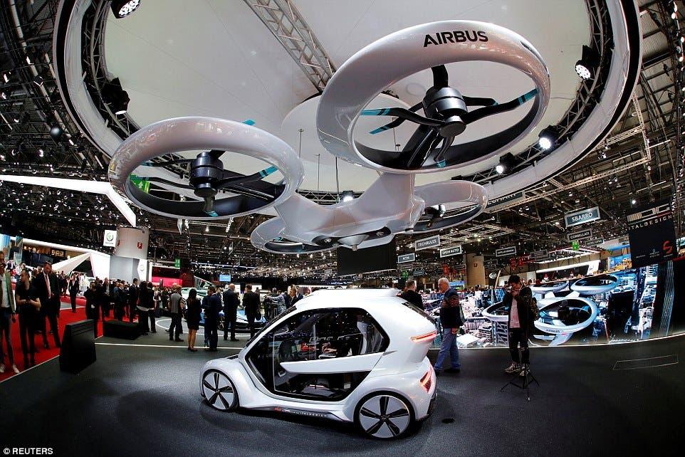 أودي تكشف عن سيارة طائرة Pop.Up Next في معرض جنيف  (فيديو)    البوابة