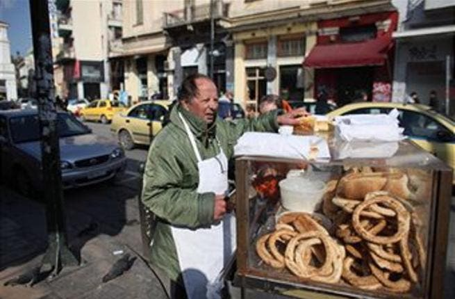 Once 15 Syrian pounds a bag of bread, now sold at some 100 Syrian pounds