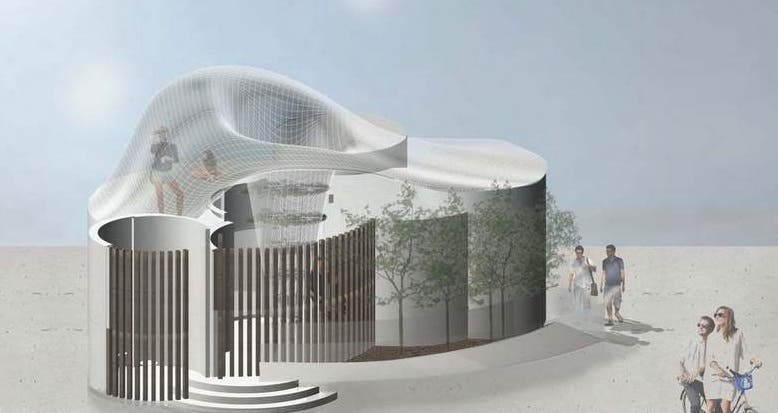 في دبي... طلاب يساعدون ببناء أول منزل مطبوع ثلاثي الأبعاد!   البوابة