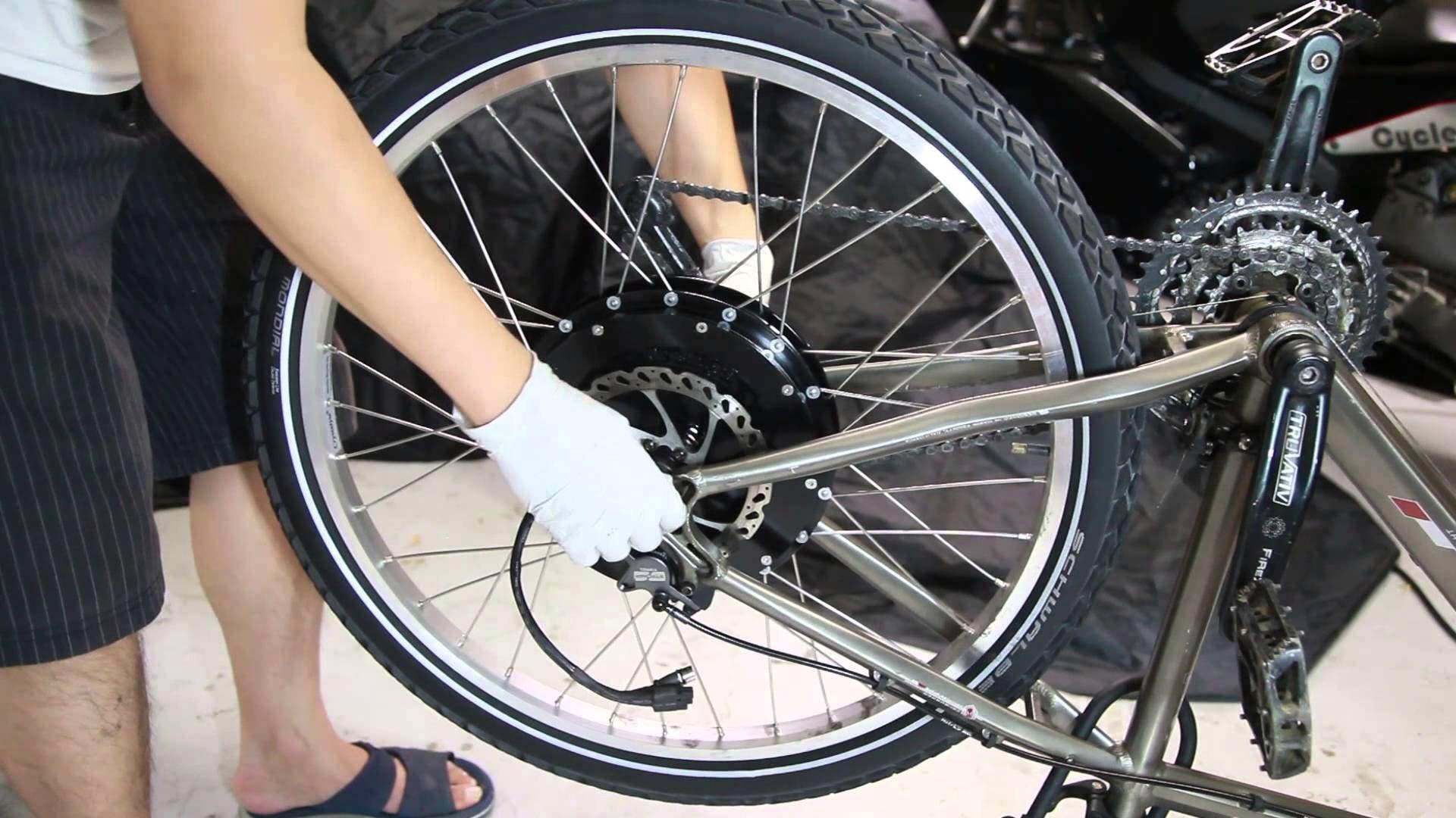 كيف تحوّل دراجتك الهوائية إلى كهربائية؟ فيديو البوابة