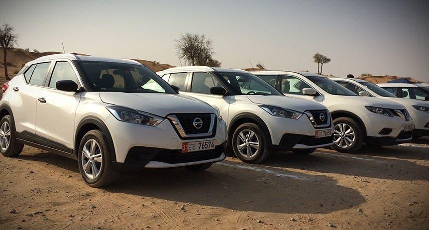 شاهد: اختبار سيارة نيسان Kicks رباعية الدفع في دبي   البوابة