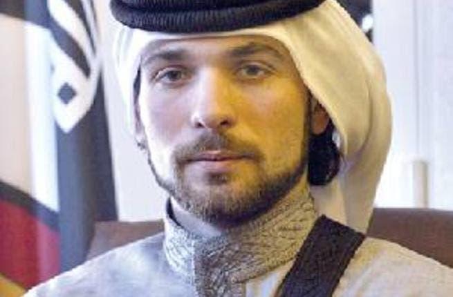 الأمير هاشم بن الحسين بإطلالة رسمية في حفل زفاف الأميرة نور بنت عاصم صورة البوابة