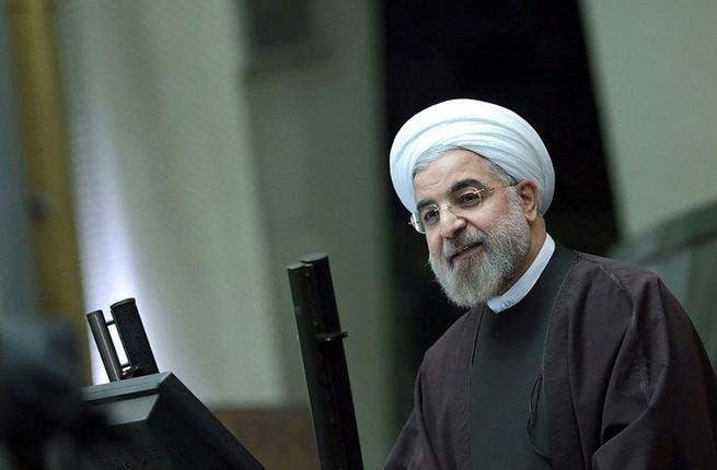 رئيس الجمهورية الايرانية حسن روحاني