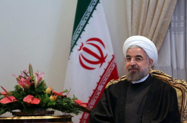 Iranian President Hassan Rouhani [Getty Images]