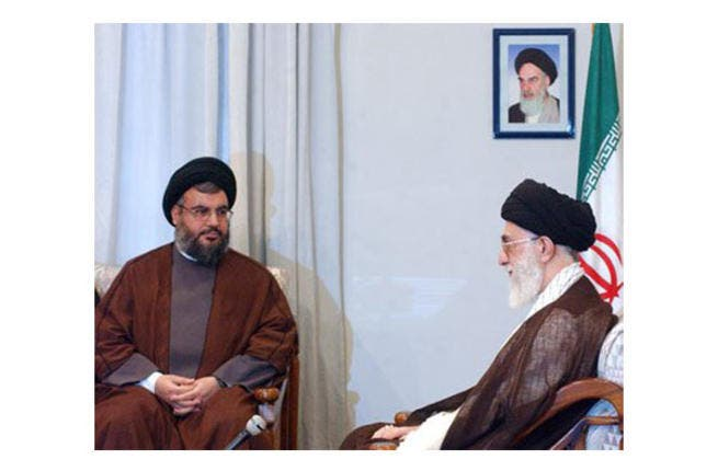 Nasrallah met with Khamenei in Tehran to discuss the ongoing Syrian crisis. (archive photo)
