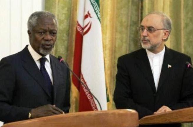 Annan in Iran