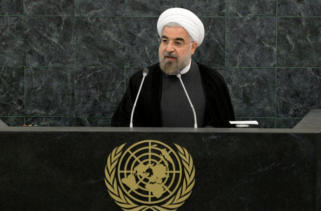 Iranian President Hasan Rouhani spoke at a U.N. nuclear disarmament conference ahead of a historic meeting between Iran and major Western powers. (Image credit: AFP)