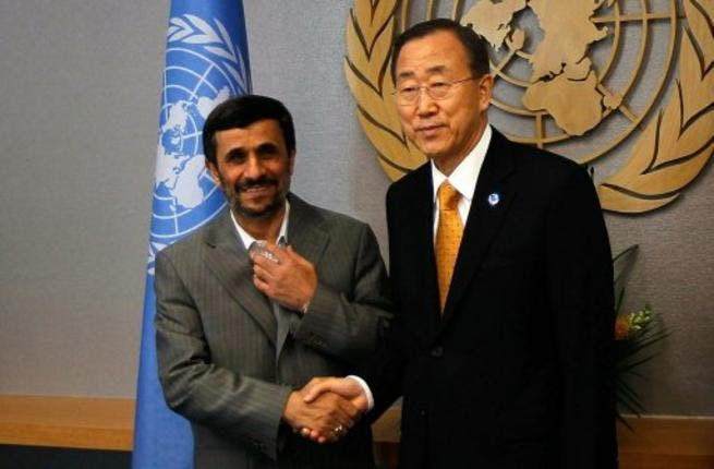 Iranian leader and UN Secretary General